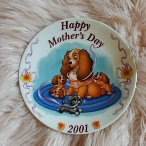 Disney Mothers Day Plate 2001